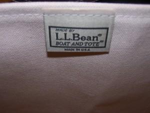 L.L. Bean Boat Tote 003