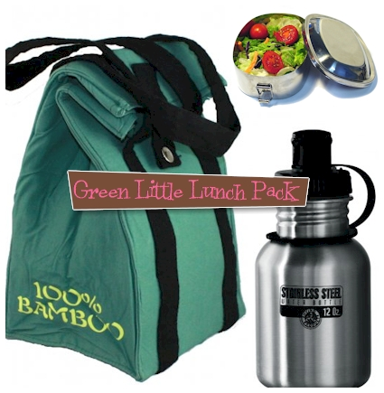 Rayon and bamboo lunch bag kit
