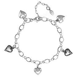 silverheartbracelet