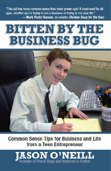Bitten by the business bug cover