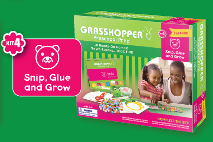 Grasshopper Kit Snip, Glue and Grow