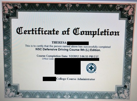 Texas defensive driving online course print certificate : Coupon ...